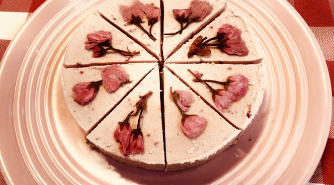 「さくらのケーキ」:我孫子ロースイーツ教室