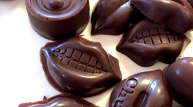 [基本のローチョコレート」:我孫子ロースイーツ教室