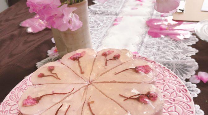 3月「桜ケーキ」:我孫子ロースイーツ